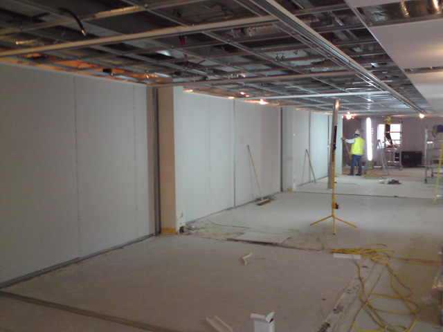 Acoustic partitioning systems - Dorset partitioning company