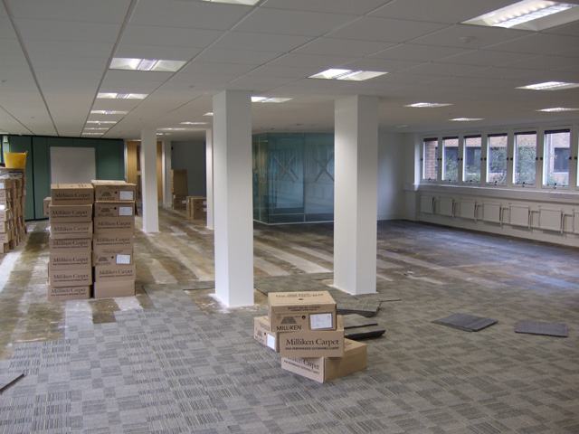 Office refurb company Hampshire
